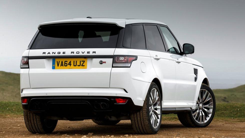 Range Rover Sport SVR trasera