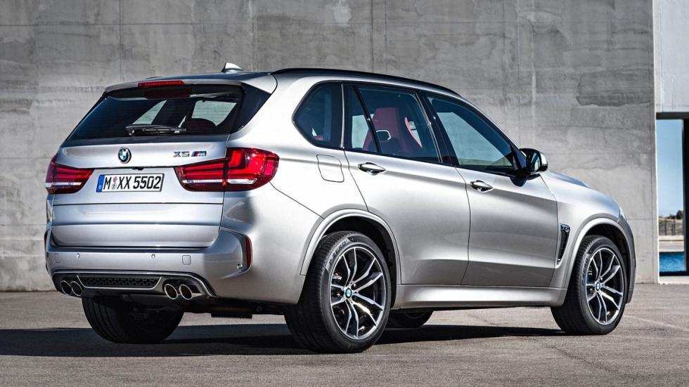 BMW X5 M 2015 trasera