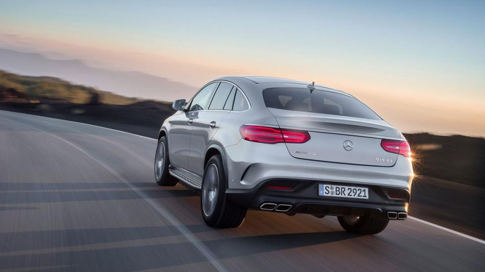 Mercedes GLE 63 S AMG Coupe trasera