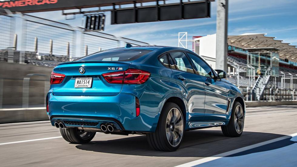 BMW X6 M 2015 trasera