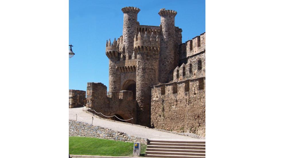 Castillo templario de Ponferrada, en León