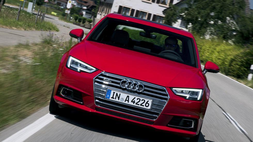 Prueba: Audi A4 2015 detalle morro