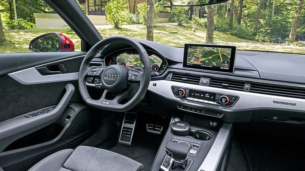 Prueba: Audi A4 2015 detalle interior