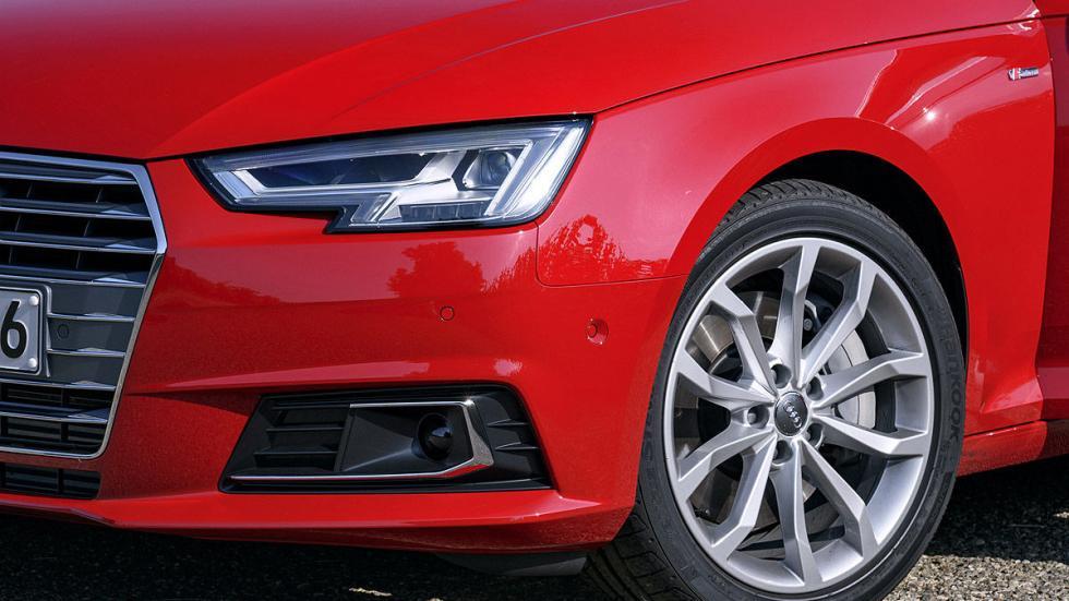 Prueba: Audi A4 2015 detalle llanta