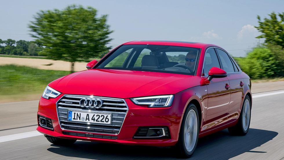 Prueba: Audi A4 2015 carretera