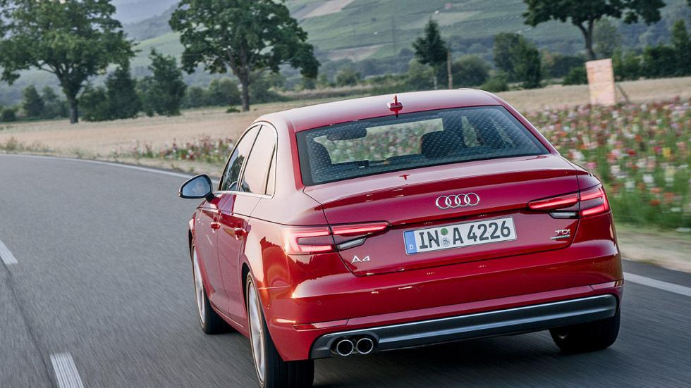 Prueba: Audi A4 2015 zaga