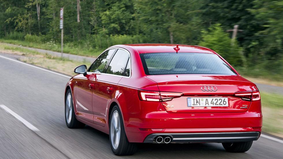 Prueba: Audi A4 2015 3 cuartos dinámica