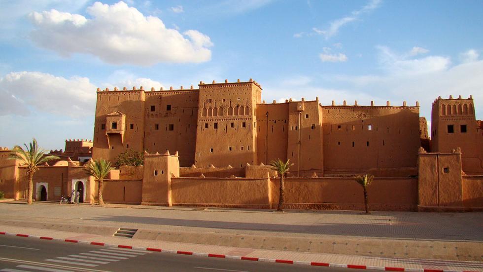 Kasbah Taourirt, al este de Ouarzazate