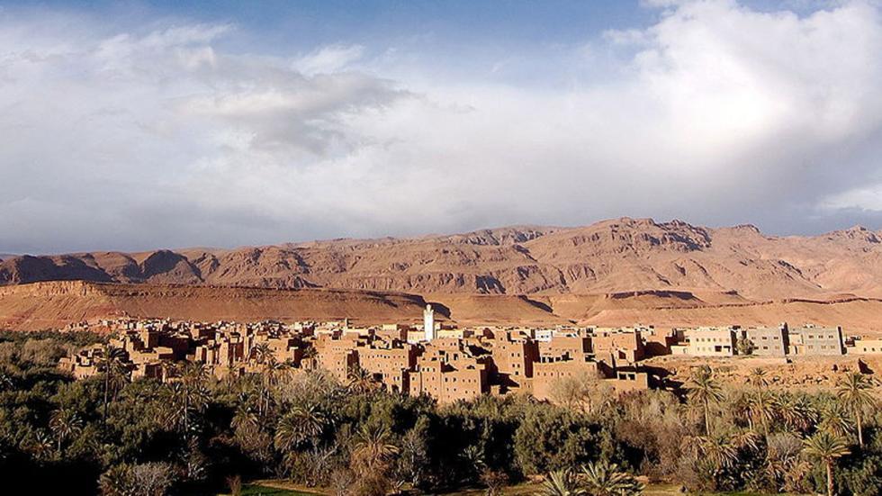 Tinghir, en Marruecos