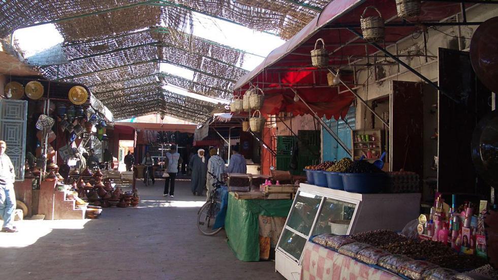 El zoco de Ouarzazate