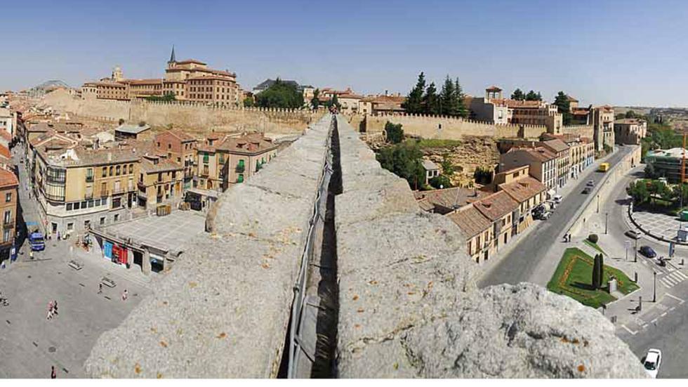 El canal del Acueducto de Segovia