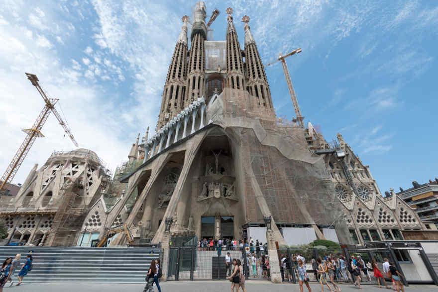 La Sagrada Familia, en Barcelona