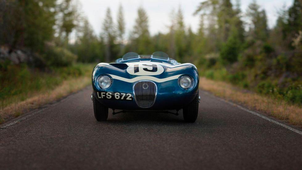 Jaguar C-Type  frontal