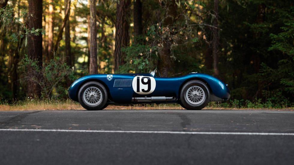 Jaguar C-Type  lateral