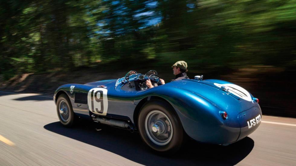 Jaguar C-Type trasera