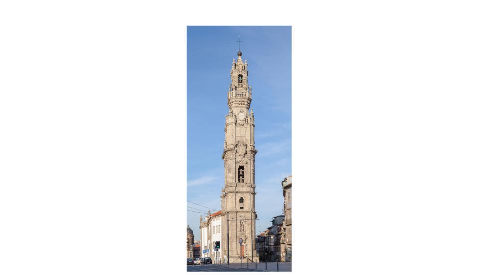 La Torre de los Clérigos, del siglo XVIII, en Oporto