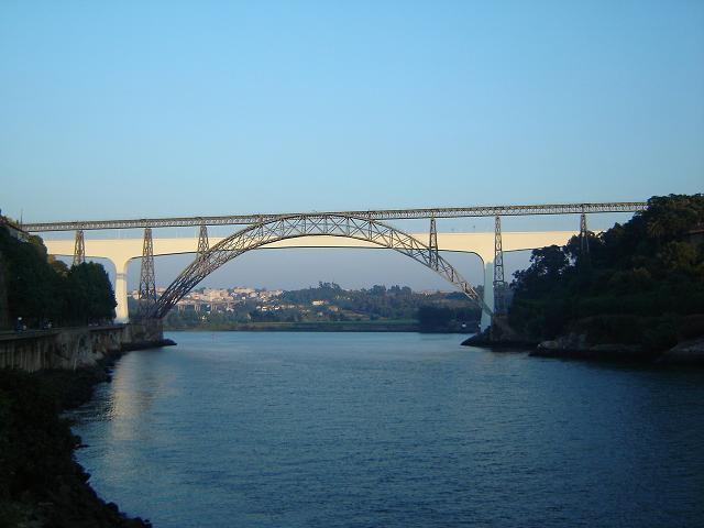 Ponte Maria Pia, en Oporto