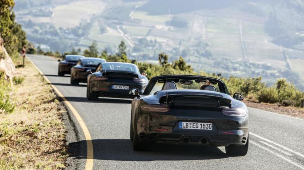 Porsche 911 facelift 2016 trasera