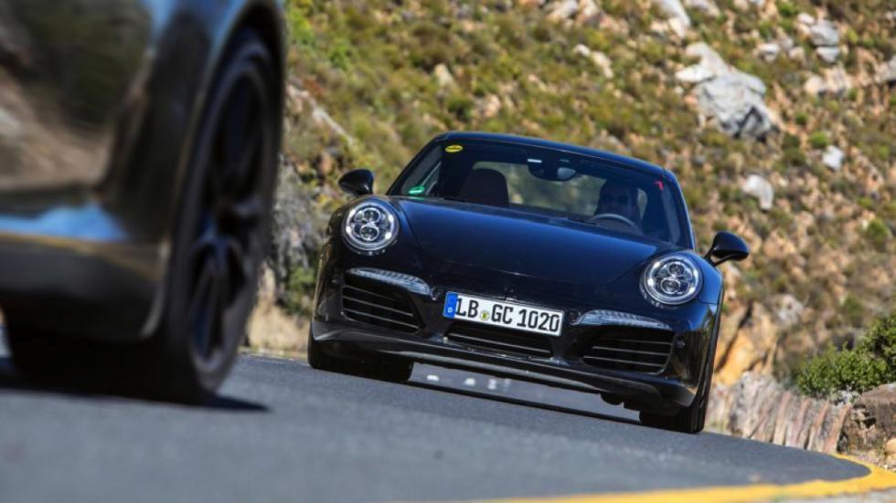 Porsche 911 facelift 2016 frontal