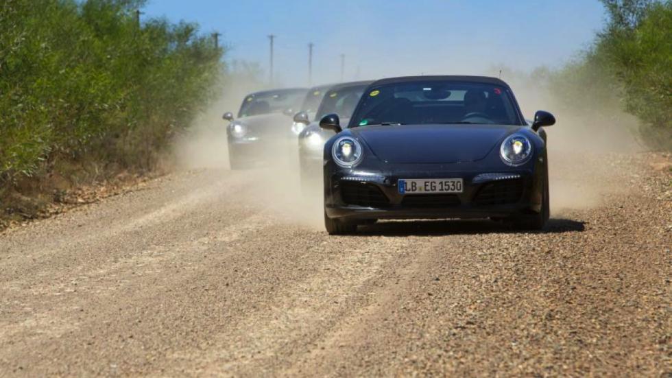 Porsche 911 facelift 2016 pruebas