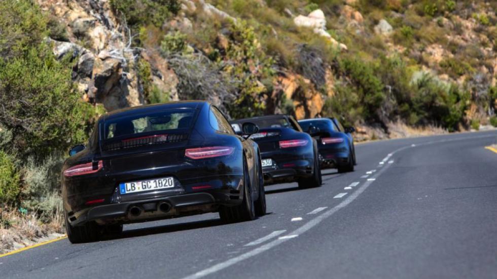 Porsche 911 facelift 2016 ensayos