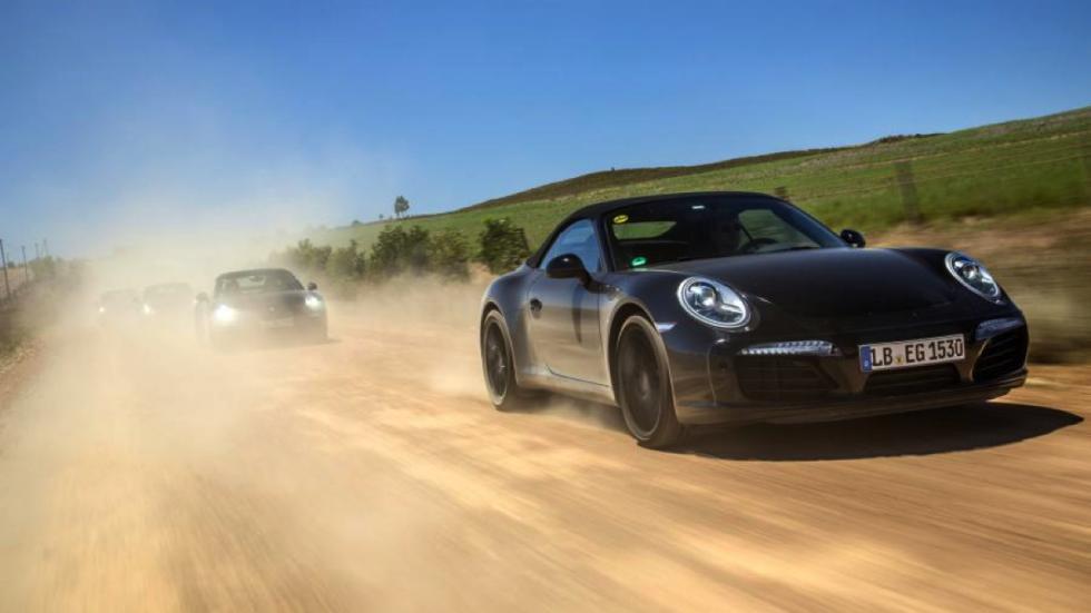 Porsche 911 facelift 2016