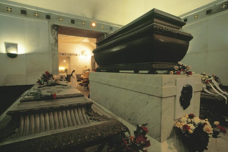 La cripta imperial