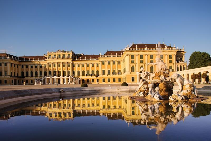 Vista del Palacio de Sissí.