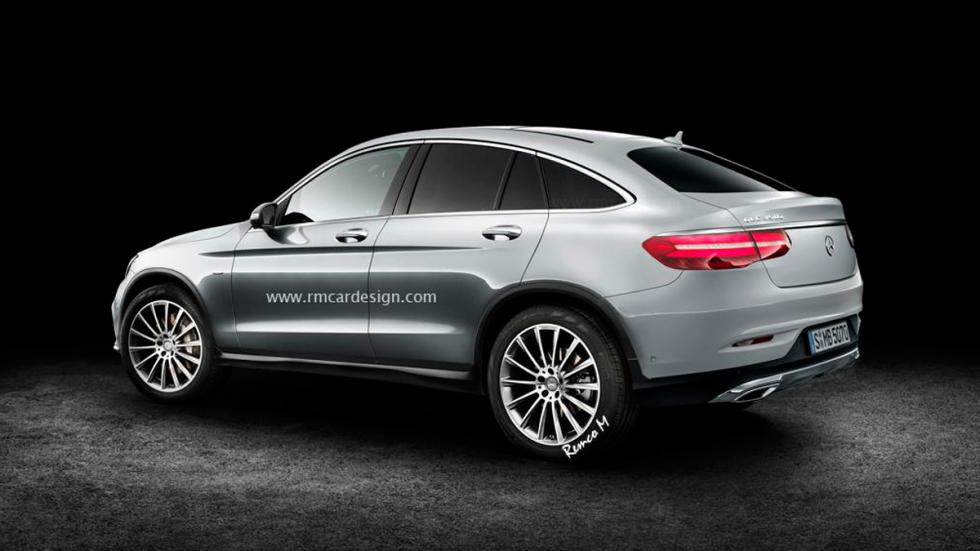 Mercedes GLC Coupé render
