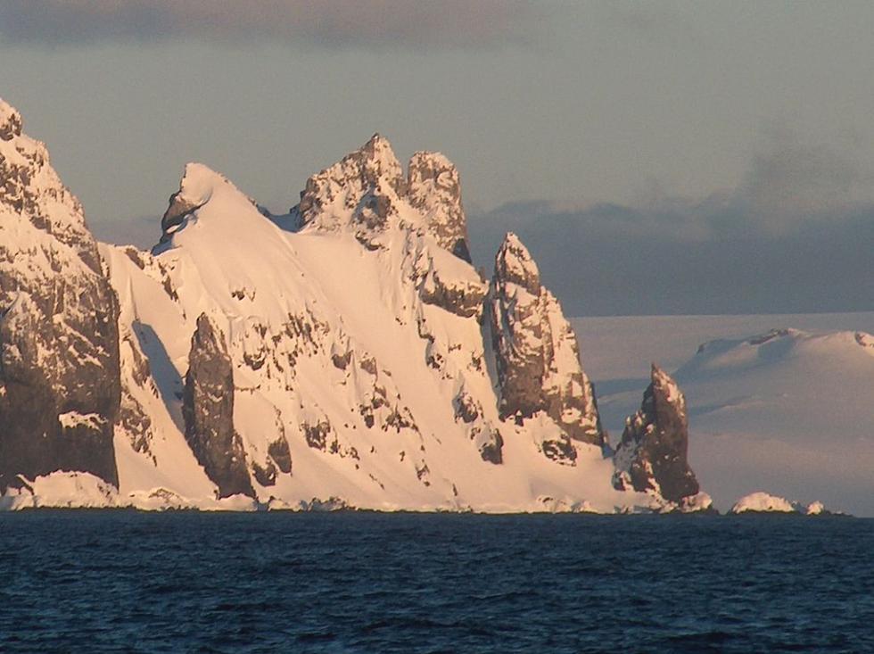 Punta Renier, en la Antártida