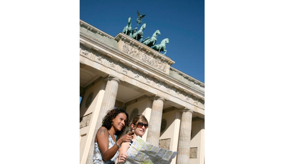 Puerta de Brandenburgo, en Berlín