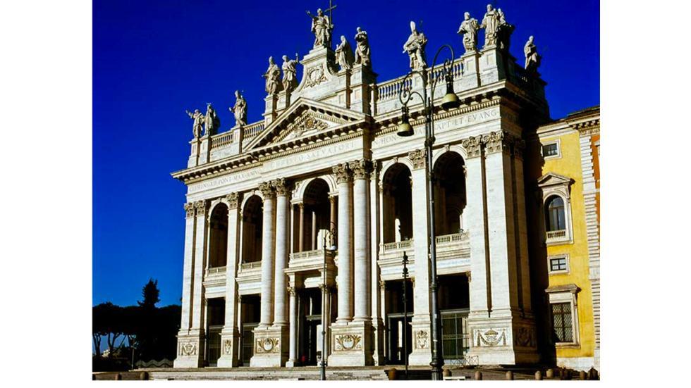 Roma: Archibasílica de San Juan de Letrán.