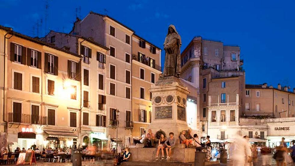 Roma: Campo de' Fiori.