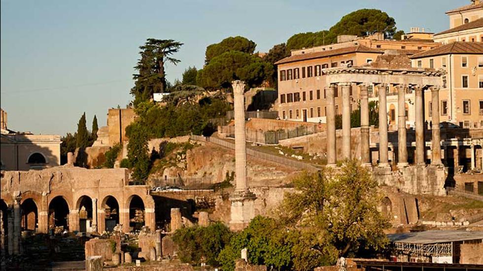 Roma: Foro Romano - Tabularium