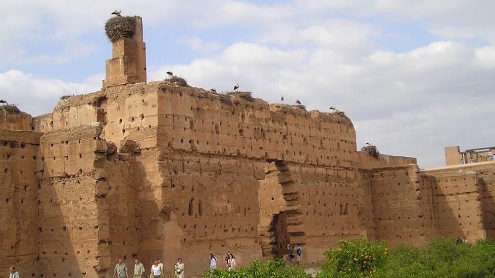 El Badi Palace, en Marrakech