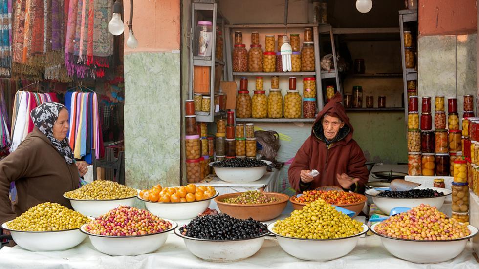 Mercadillo de Marrakech