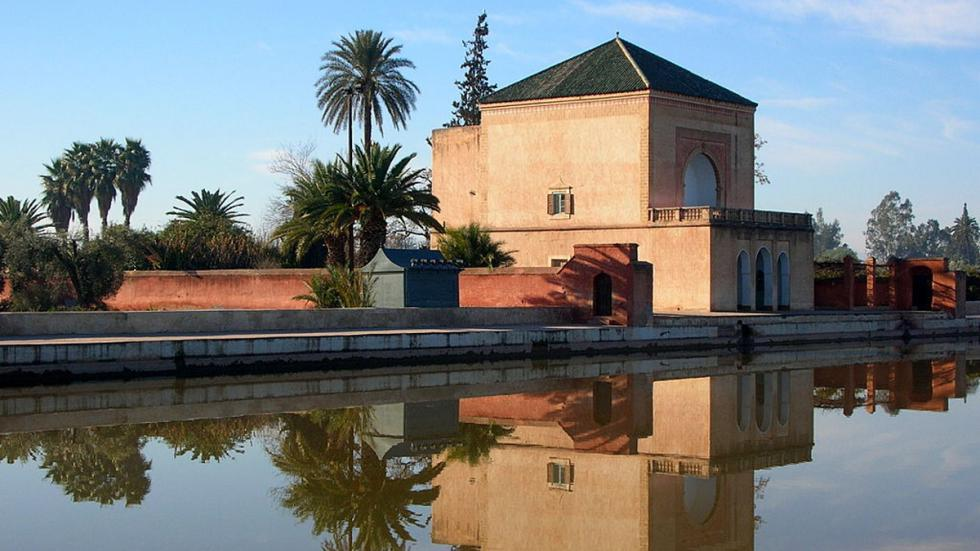 Jardines Menara, en Marrakech