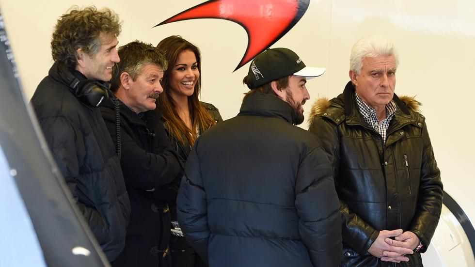 Lara Álvarez en el circuito de Jerez