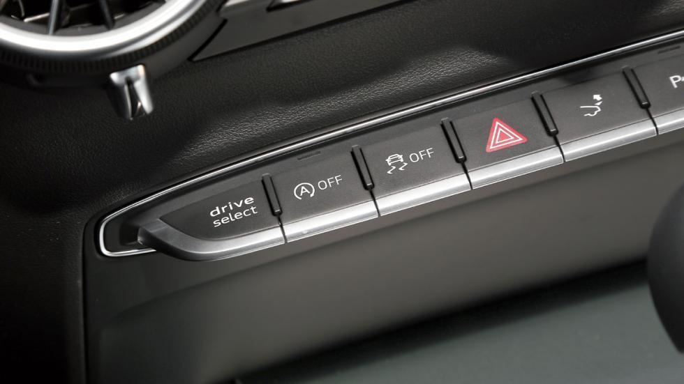 Audi TTS 2015 botones