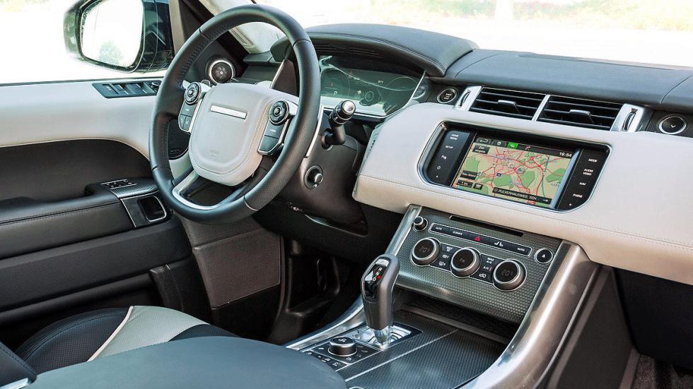 Range Rover Sport interior volante