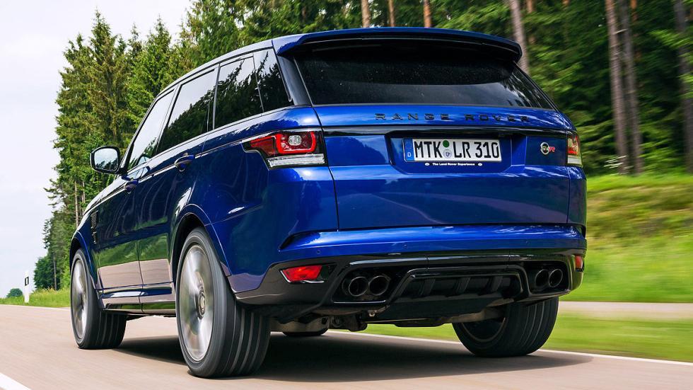Range Rover Sport interior zaga