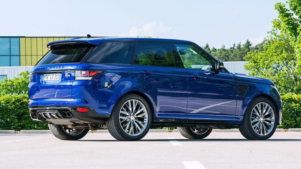 Range Rover Sport interior lateral