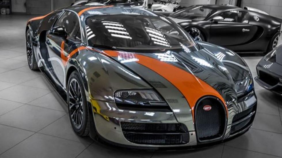 Bugatti Veyron Super Sport Sticker City