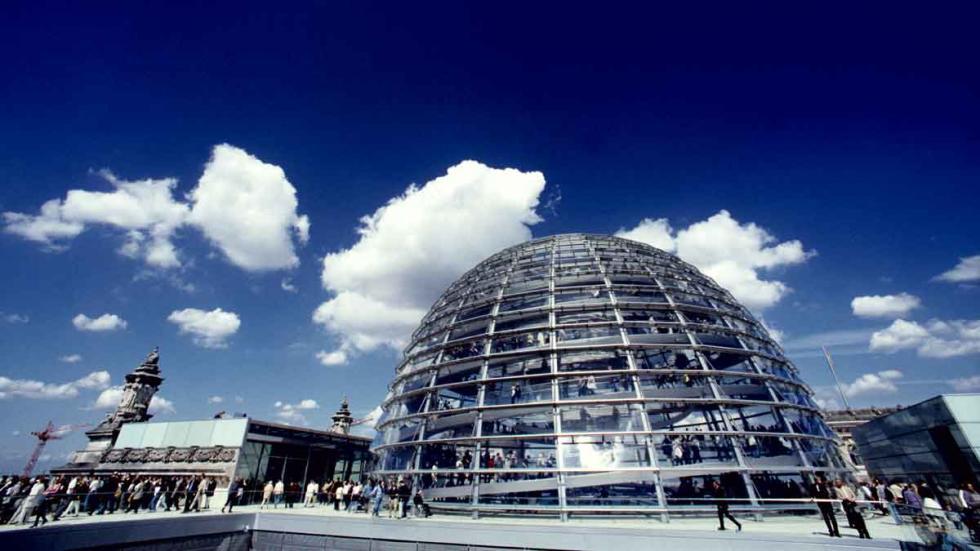 El Parlamento alemán, en Berlín.