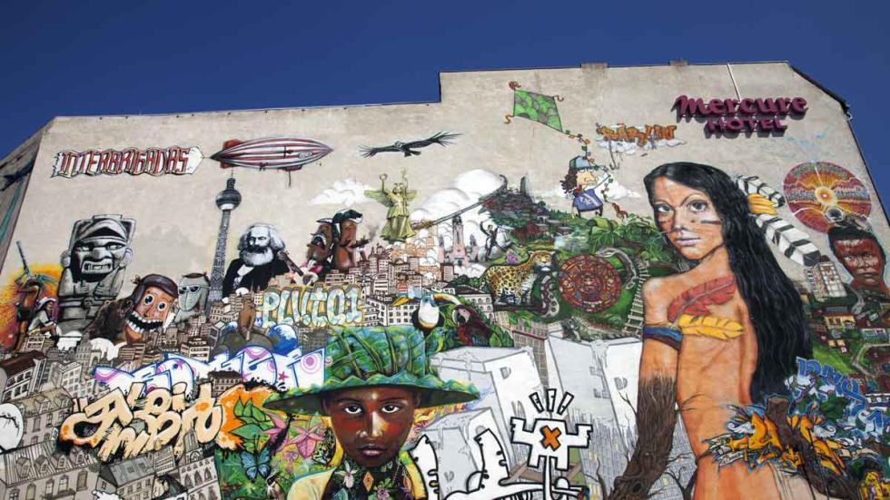 Muro de Berlín.