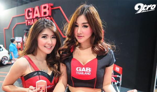 chicas salon de Bangkok 2015
