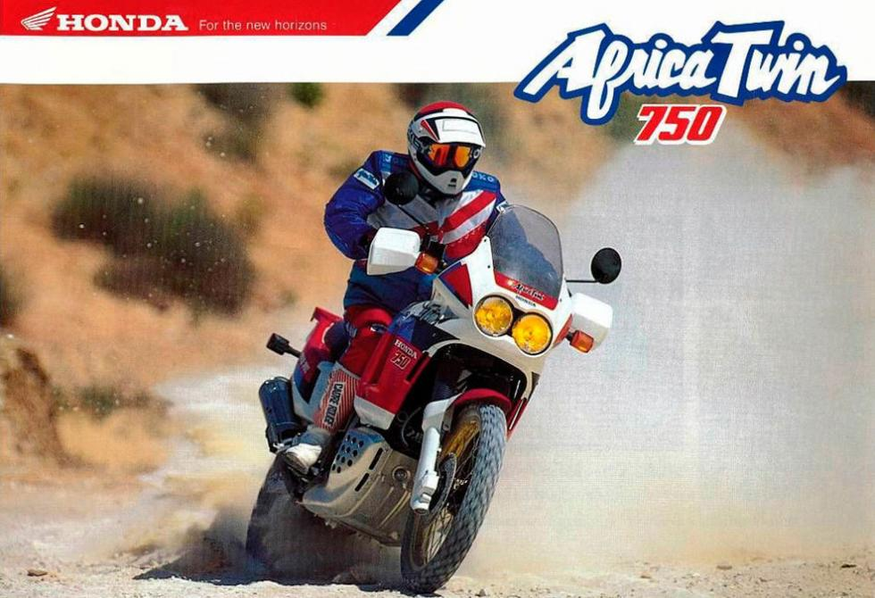Honda Africa Twin catálogo años 80 2