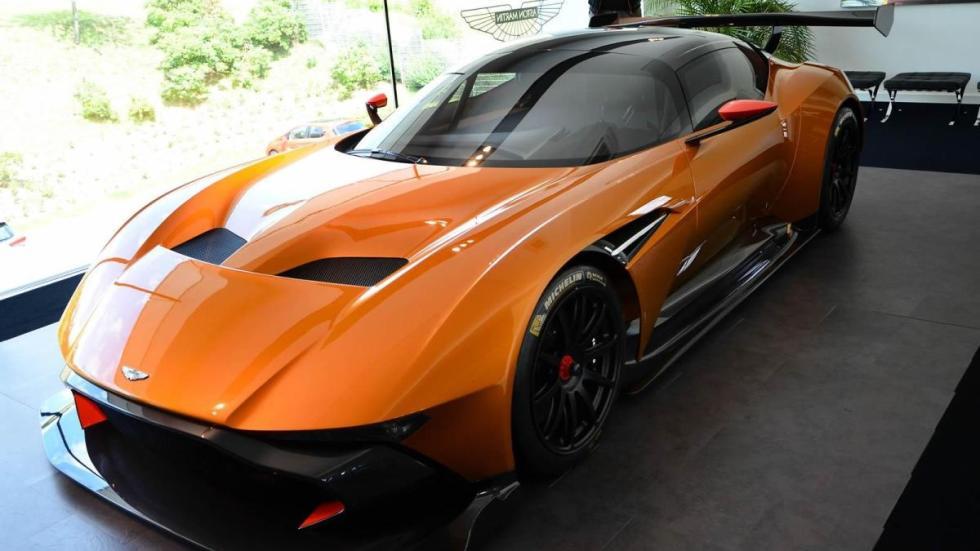 Aston Martin Vulcan Light Orange