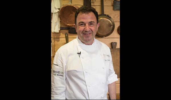 Martín Berasategui en la quinta edición de 'Berasategui Taste Drive by Skoda'