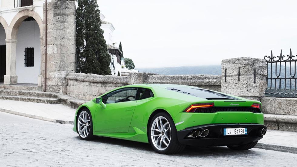 Lamborghini Huracan trasera